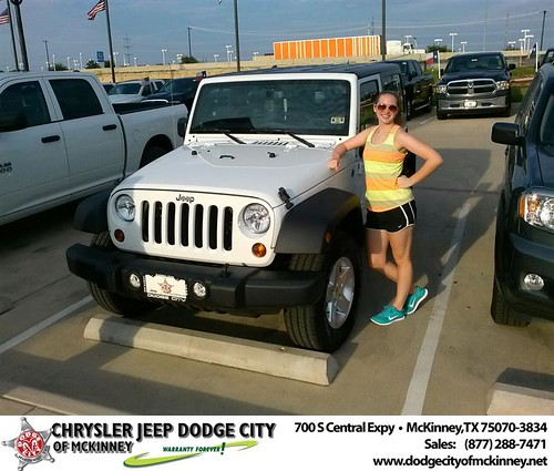 Thank you to Don Henson on the 2013 New Jeep  from David Walls and everyone at Dodge City of McKinney! by Dodge City McKinney Texas