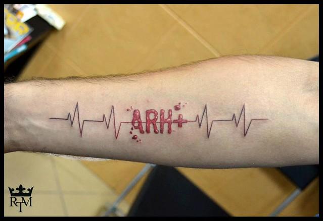 Deop Blood Blood Type Tattoo