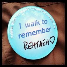 Walk to remember Rehtaeh
