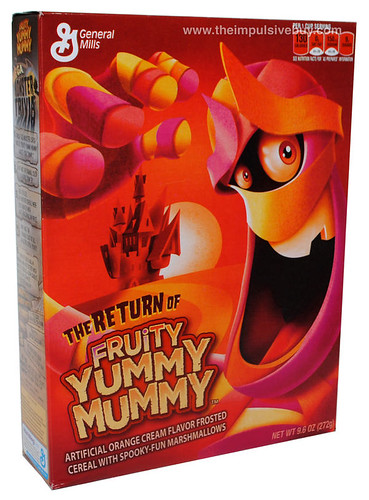 General Mills Fruity Yummy Mummy Cereal