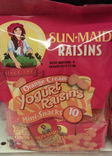 Sun-Maid Orange Cream Yogurt Raisins