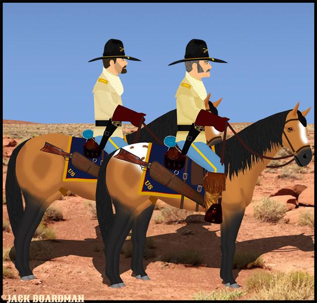 Lt Col Phineas Cooper & Capt Jeremiah Cooper