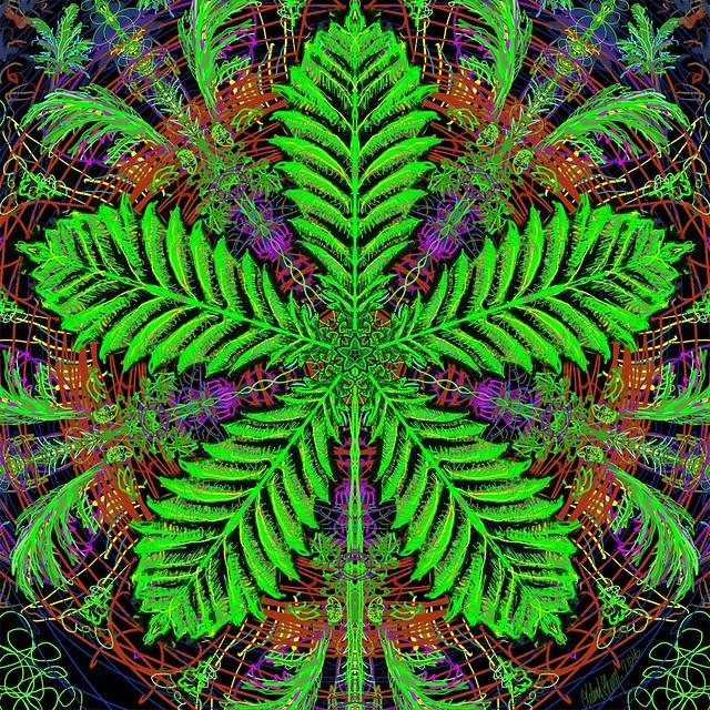 Weed Mandala 1