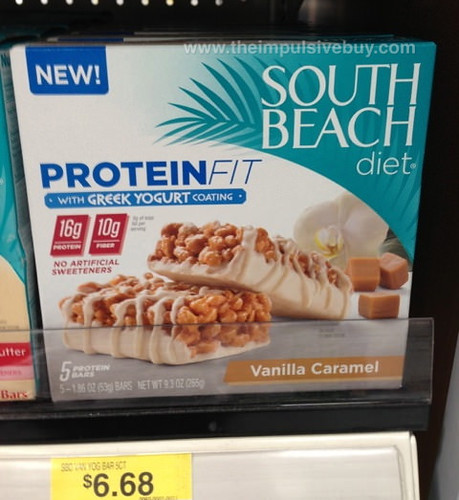 South Beach Diet Vanilla Caramel ProteinFit