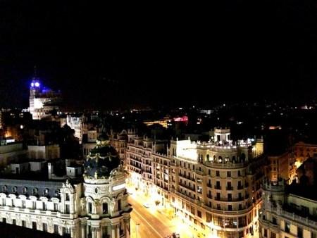 terrazza Circolo Belle Arti Madrid