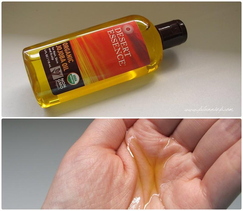 Jojoba Oil-swatch