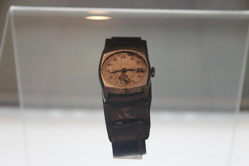 Y el reloj se detuvo a las 8:15 del 6 de agosto de 1945