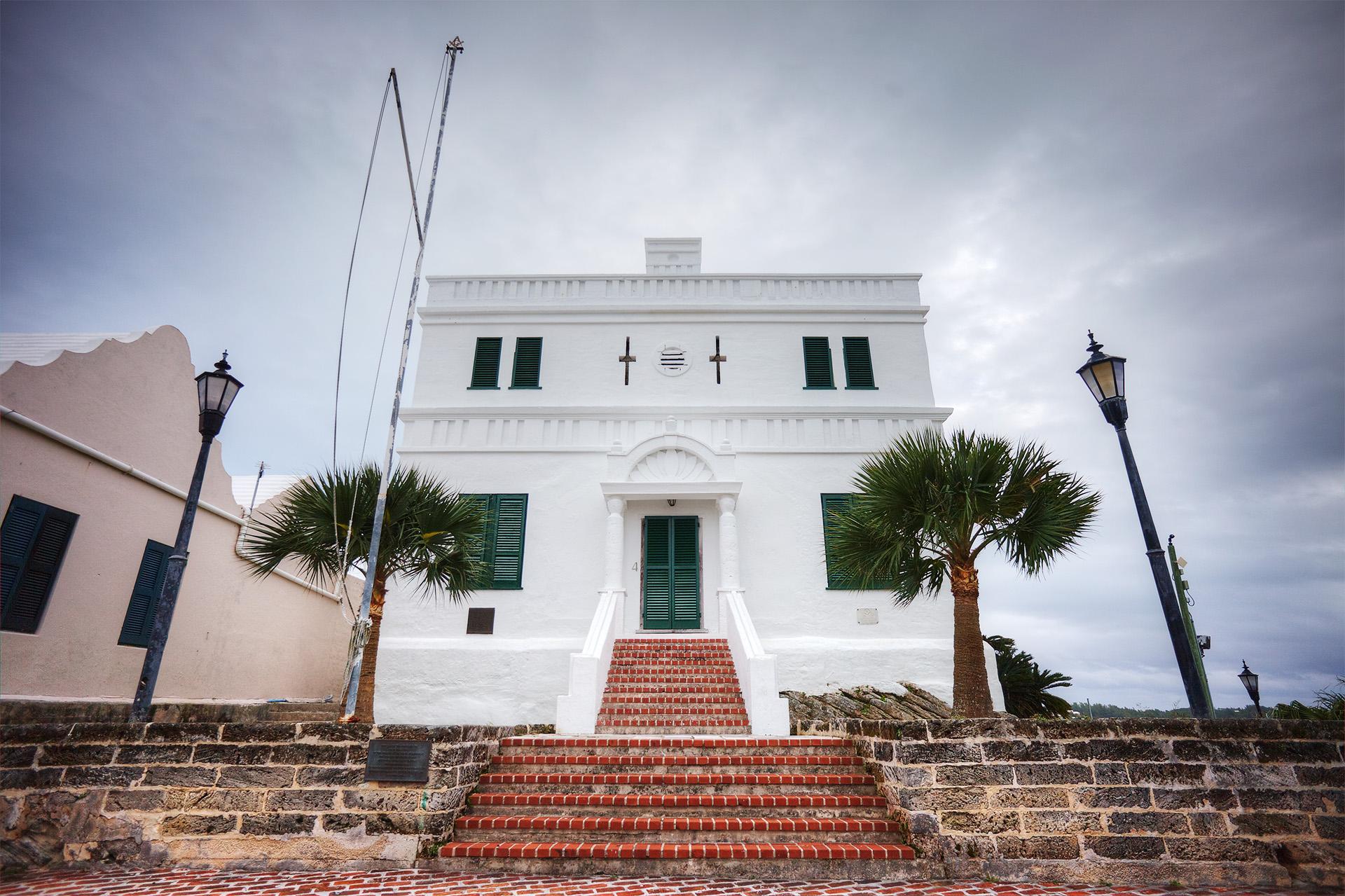 State House, St George, Bermuda.
