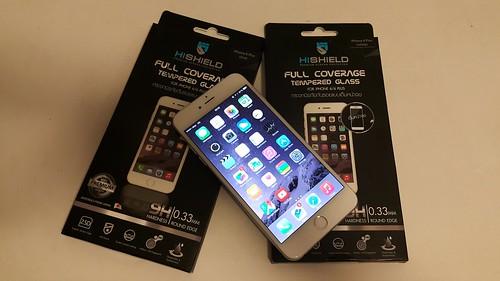 คราวนี้ลองกระจกนิรภัยสำหรับ iPhone 6 Plus กันบ้าง