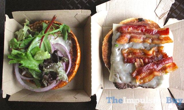 Wendy's Bacon Mozzarella Burger 2
