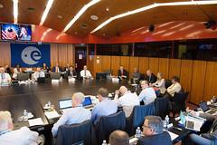 Charles F. Bolden Jr addresses ESA's Council