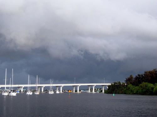 Storming looming