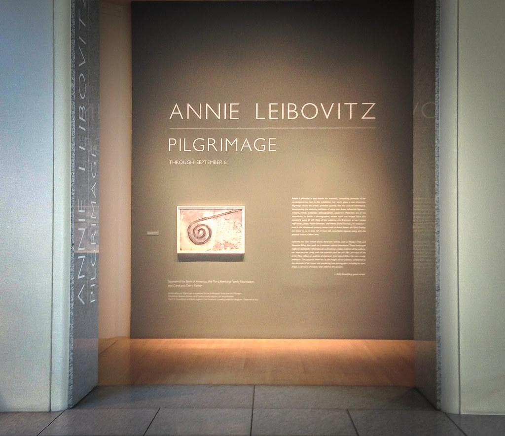 Annie Liebovitz Pilgrimage - San Jose Museum of Art