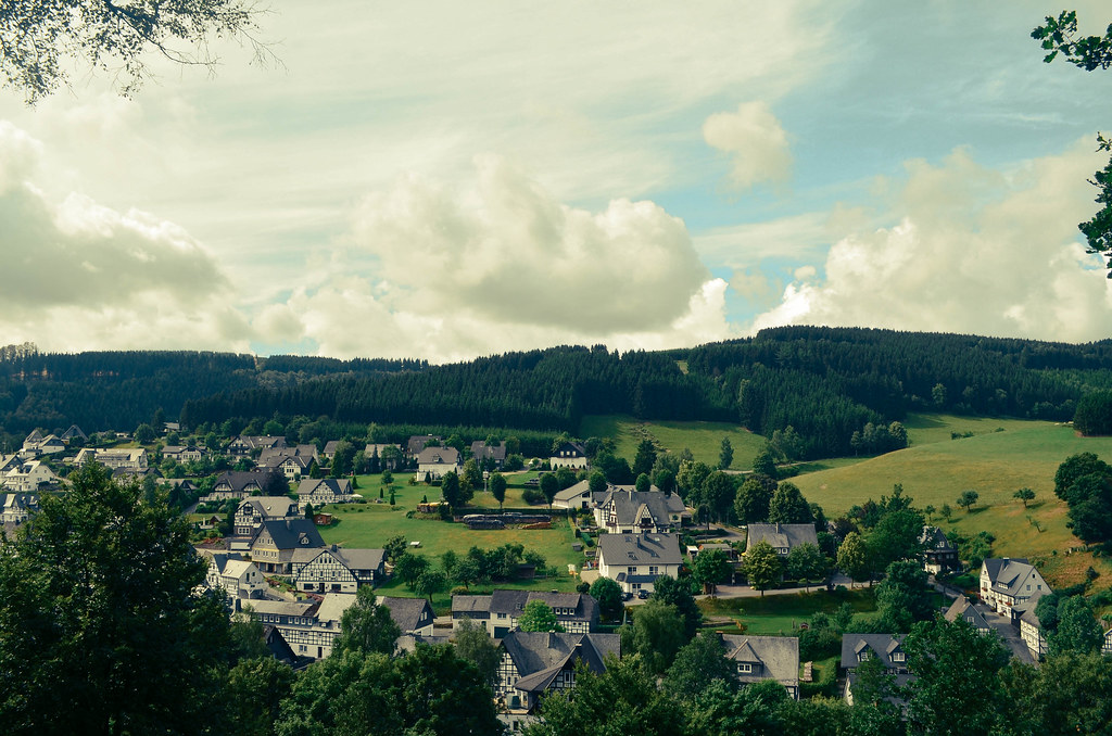 14 german hills countryside