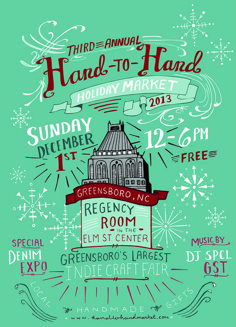 HAND-to-HAND MARKET - 3rd ANNUAL HOLIDAY MARKET