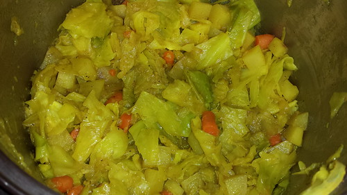 Ethiopian cabbage,  carrots,  and potatoes