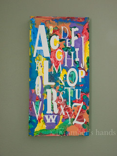 Children's Art Piece -by amber's hands-