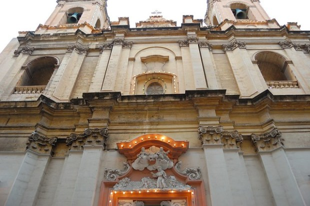 St. Augustine's Church | Exploring Valletta, Malta | No Apathy Allowed