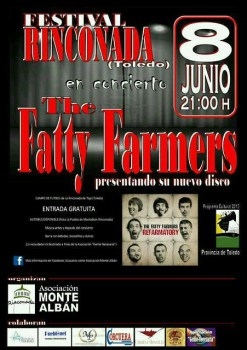 The Fatty Farmers en el Festival Rinconada (Toledo)