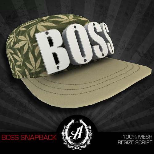 Boss Snapback by [Avoid] Jayro ツ