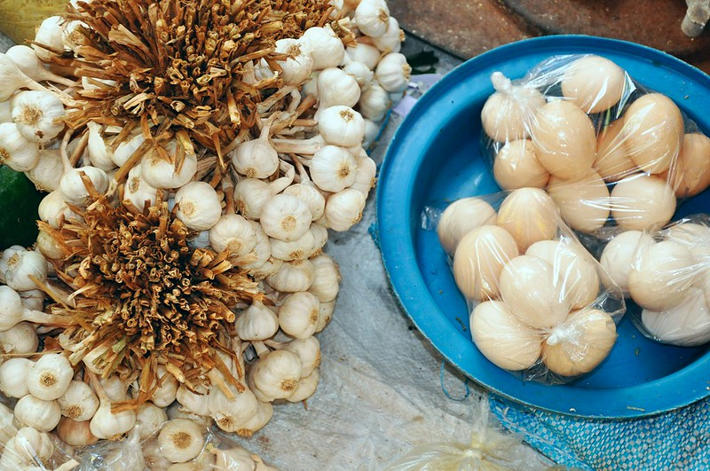 Ilocos Garlic and Native Eggs