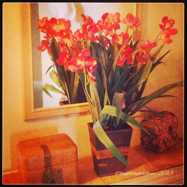 Sep 22 - bouquet {a lovely arrangement in the entrance of the condo} #photoaday #bouquet #flowers