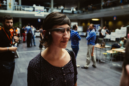 wearable tech like google glass could be huge for trade shows