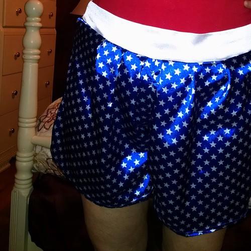 1941 Wonder Woman Split Skirt