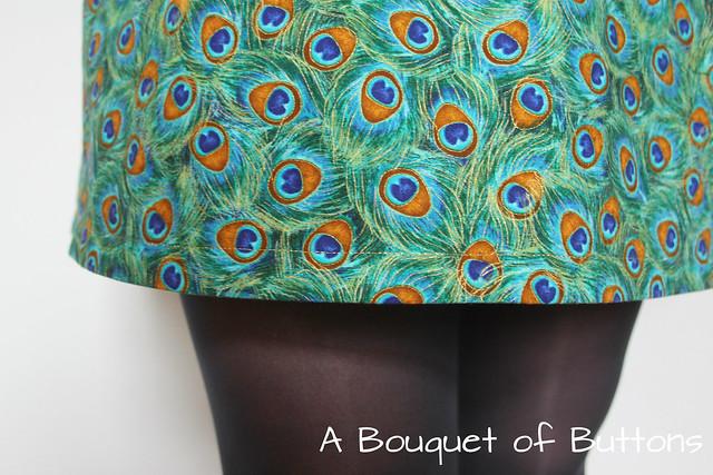 peacock belladone