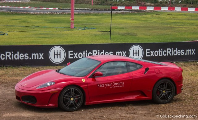 The 483-horsepower Ferrari F430