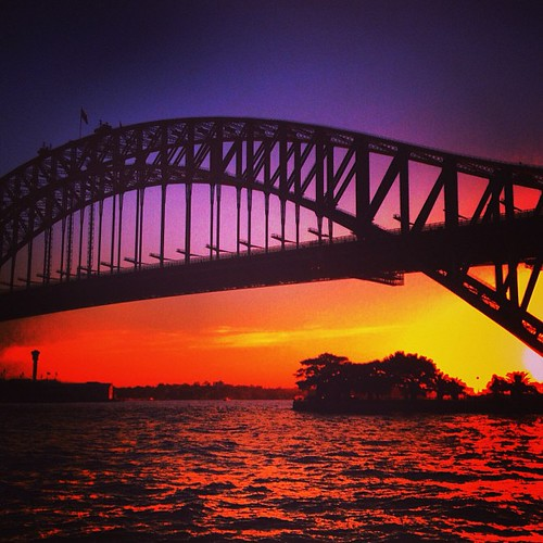 #sydney #australia #sunset by @MySoDotCom