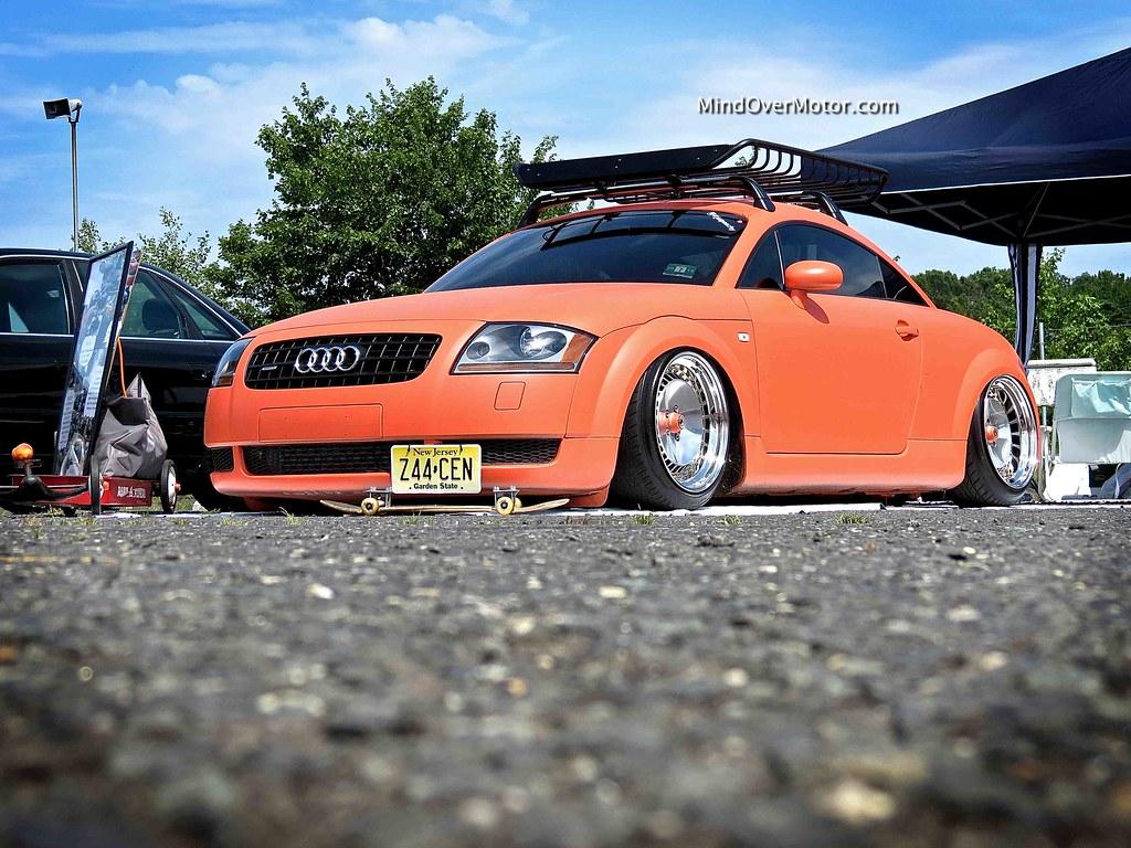 Slammed Audi TT at Waterfest 19