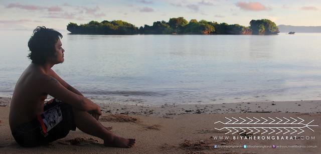 Harry Santos in Paguriran Island