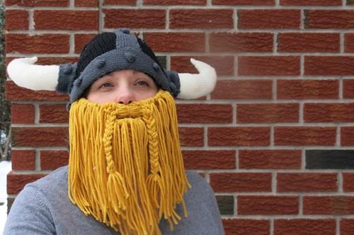 Bearded Viking hat