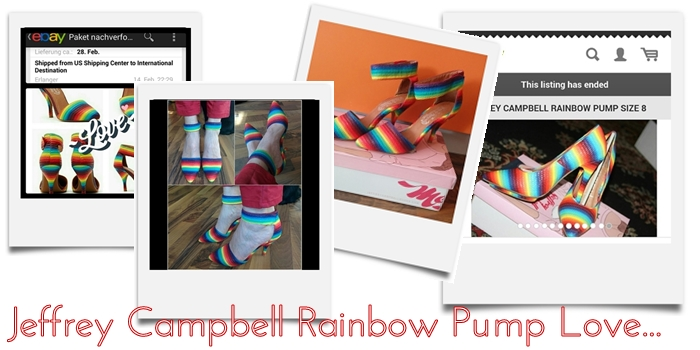 Jeffrey Campbell Rainbow Pump