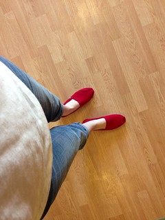 Red birthday toms!