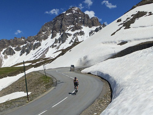 Galibier - north side