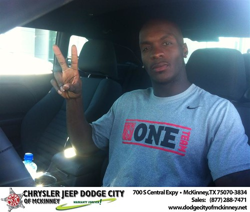 Thank you to Jamar Newsome on your new 2014 #Dodge #Challenger from Bubba Thompson and everyone at Dodge City of McKinney! #LoveMyNewCar by Dodge City McKinney Texas