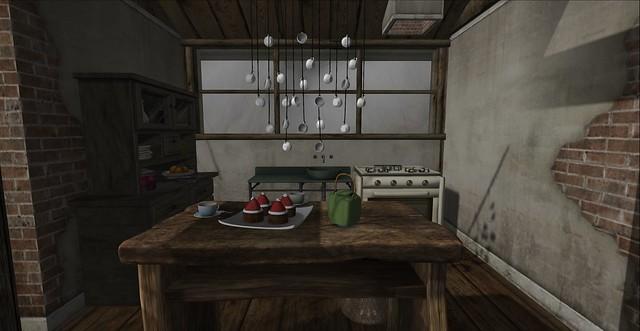 Winter Cottage: Kitchen