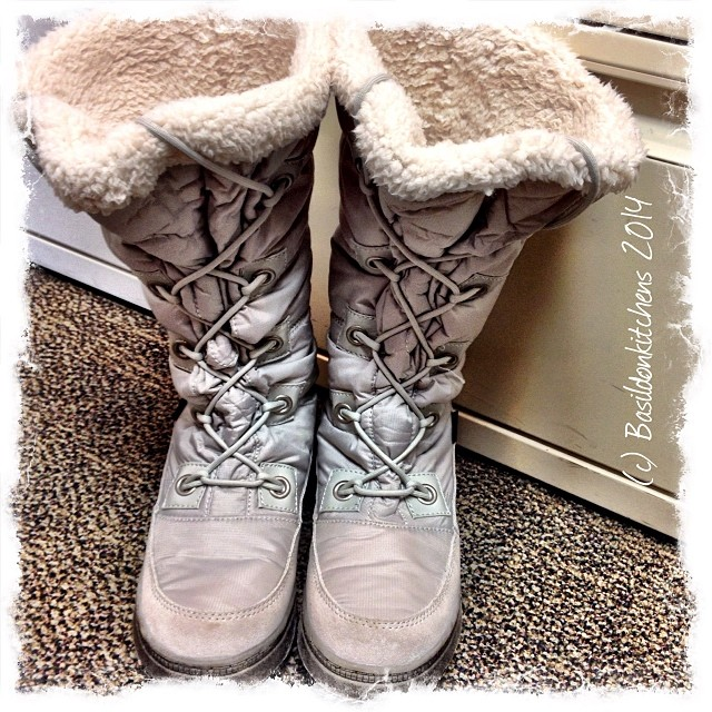 2/1/2014 - begins with 'g' {my gray boots} I really need these today! #fmsphotoaday #gray #boots #winter #cold #brrrrr