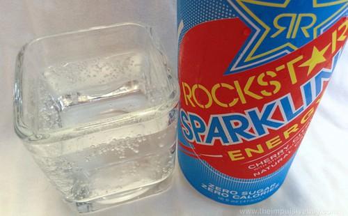 Rockstar Sparkling Closeup