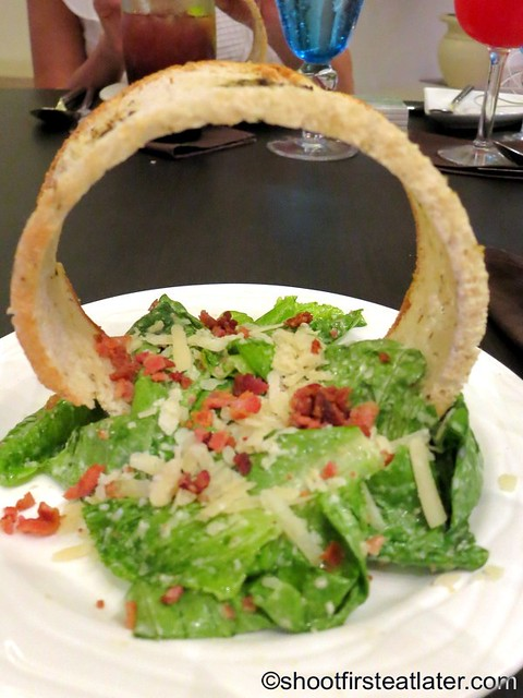 Churrasco at Ibiza Beach Club- Ceasar salad