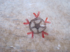 Wax Paper Mandala Ex 3