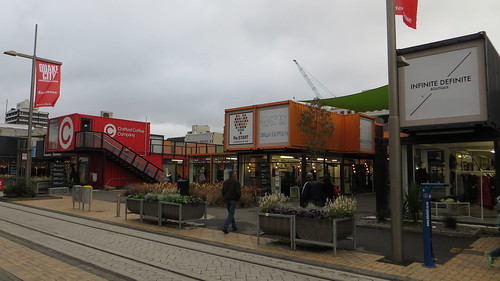 shipping container shopping centre