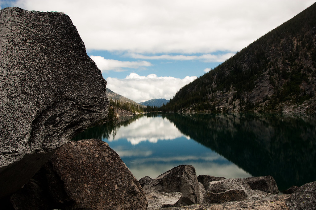 Sky Reflection on Colchuck Lake