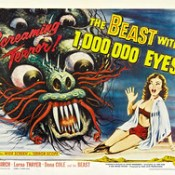 The Beast with 1,000, 000 Eyes! (American Releasing Corp., 1955) Half Sheet (22