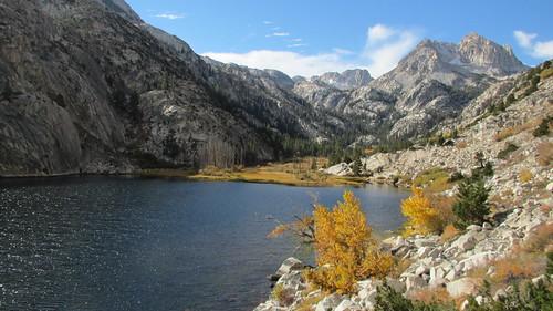 Backpacking to Barney Lake