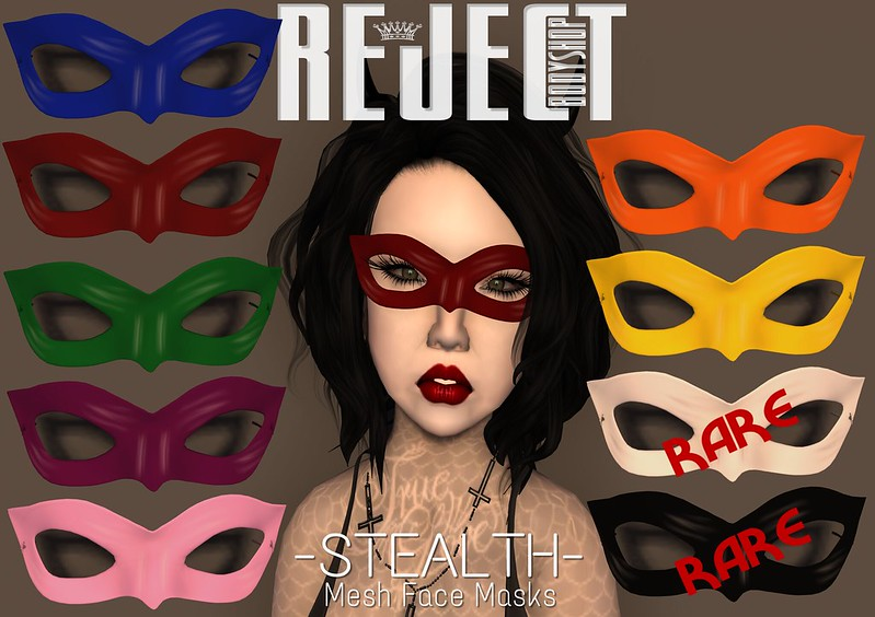 [REJECT] Stealth Mask (gacha)