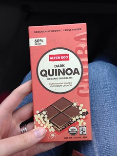 Dark Quinoa chocolate