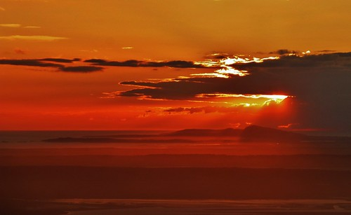 Anglesey Mountain Sunset
